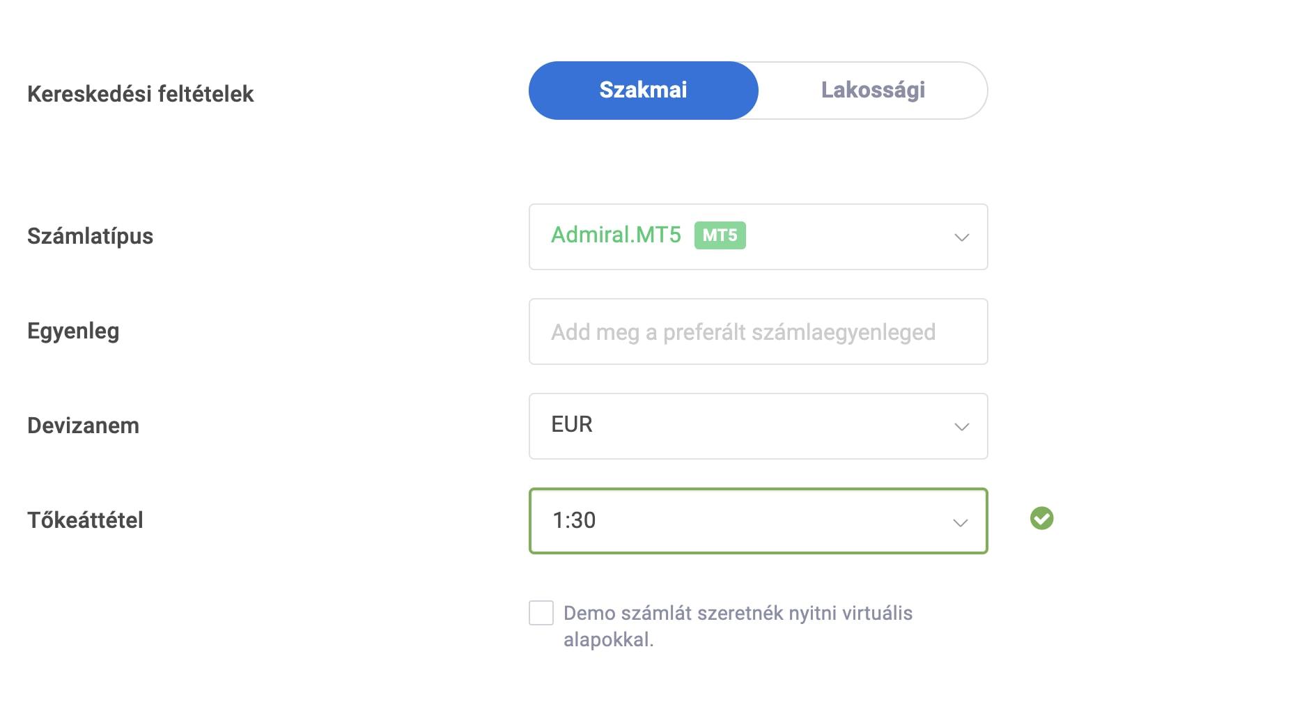 demo számla bináris opciók kereskedésekor pénztárcák bitcoin felső