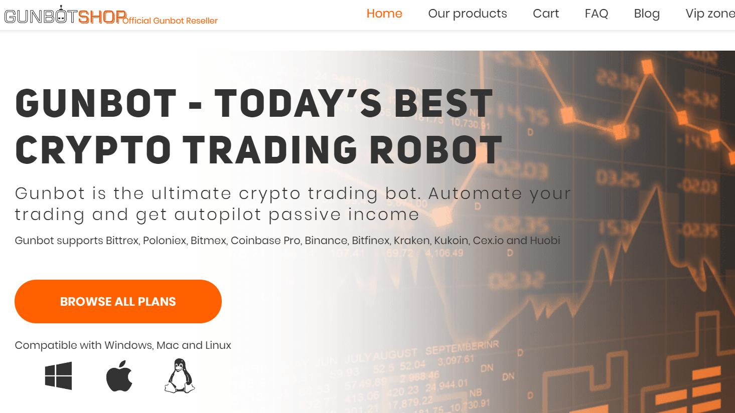 működő kereskedési robot