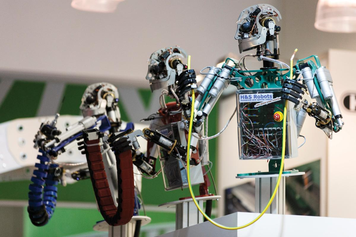 robot ötletek kereskedése