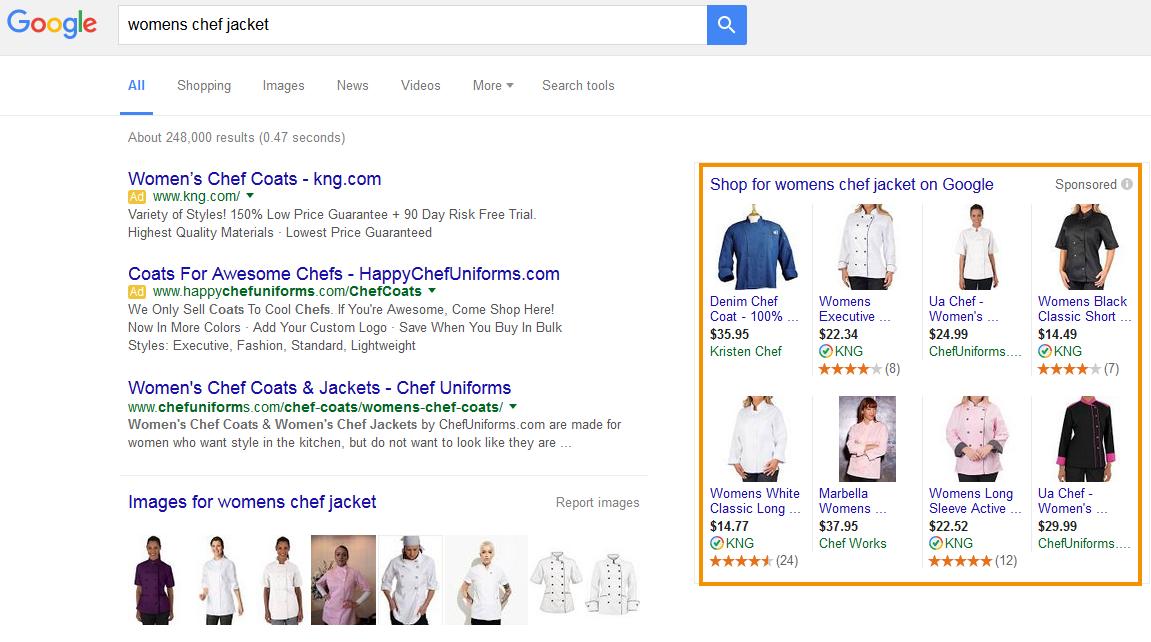 a Google keresetének típusai az interneten