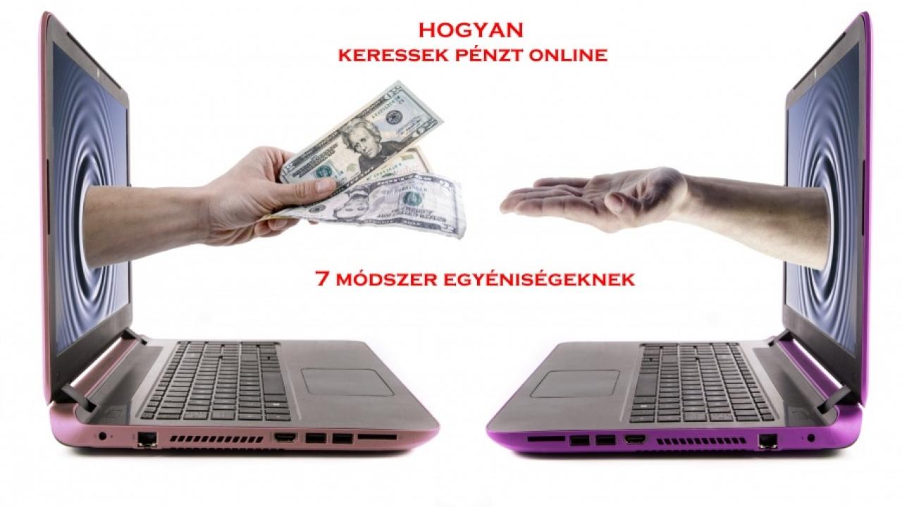 webhelyeken pénzt keresni az interneten