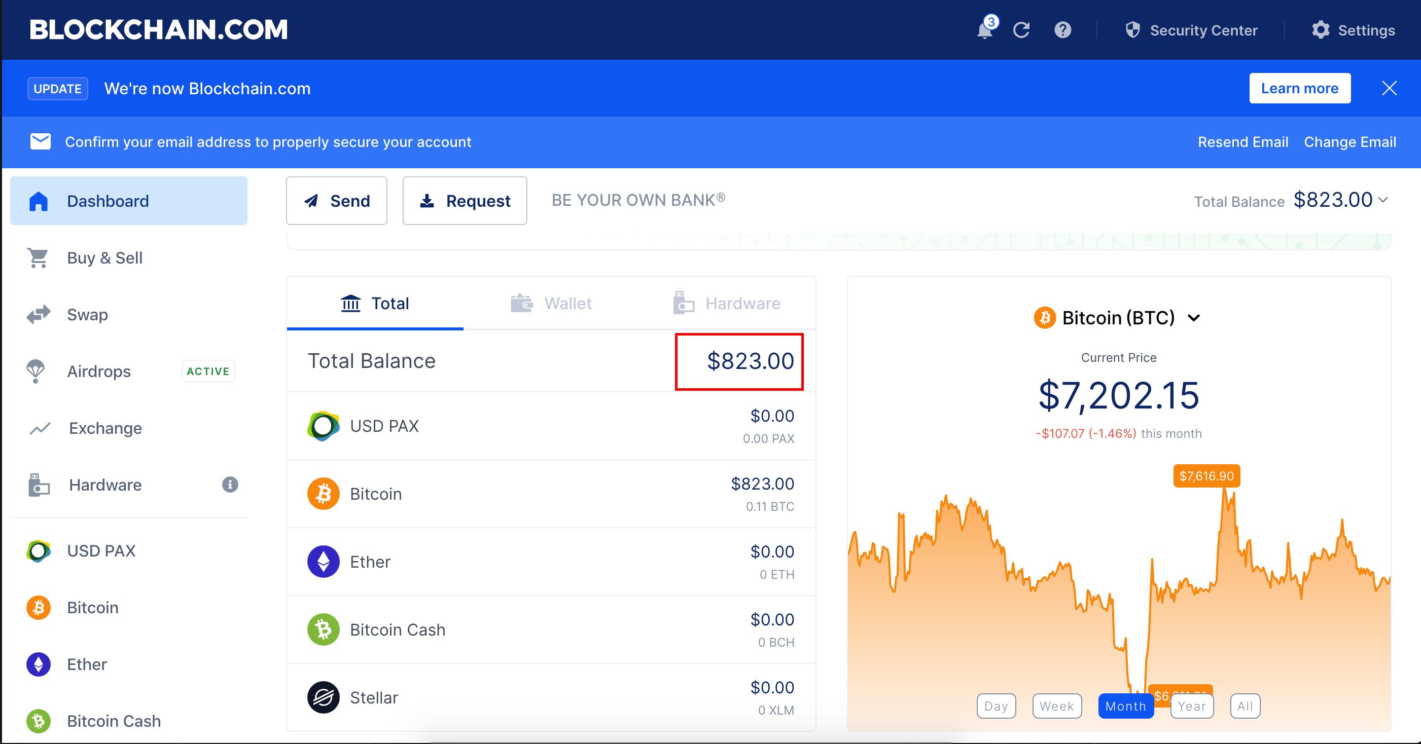 bitcoin blockchain info