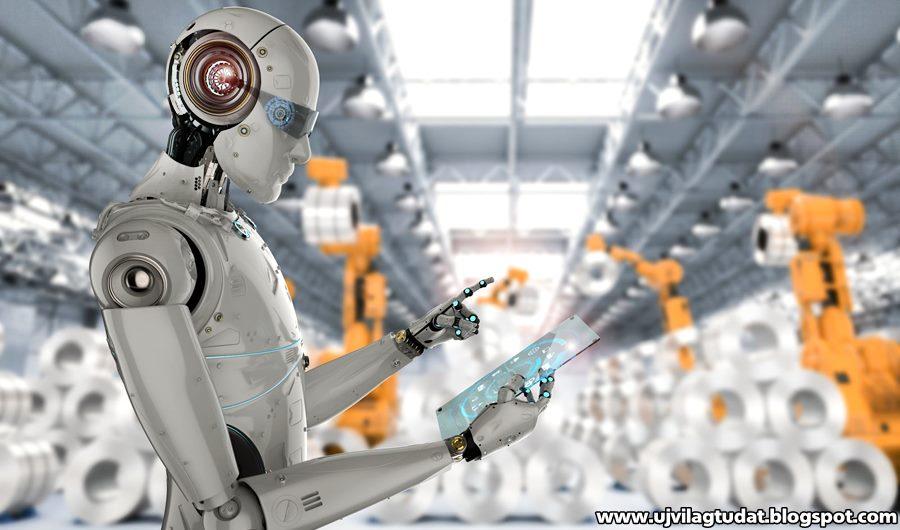 pénzt keresni egy robot
