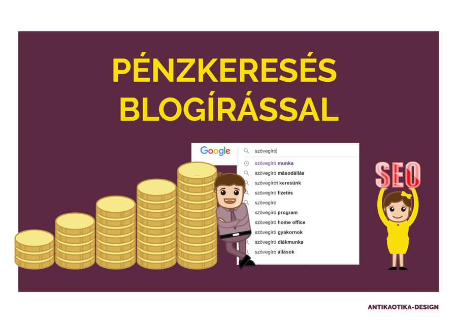 pénzt keresni az oldal használatával)