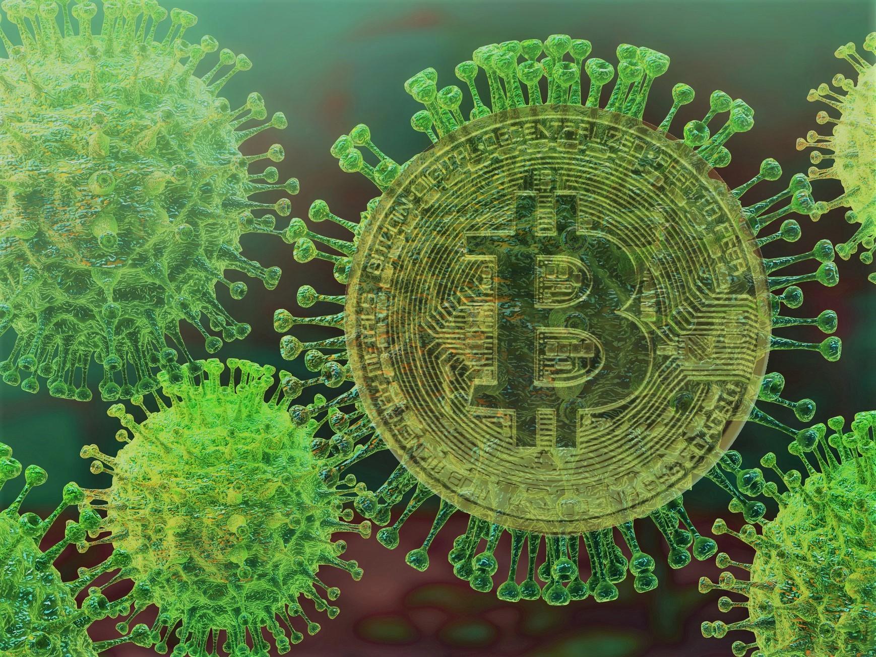 bitcoin vírus