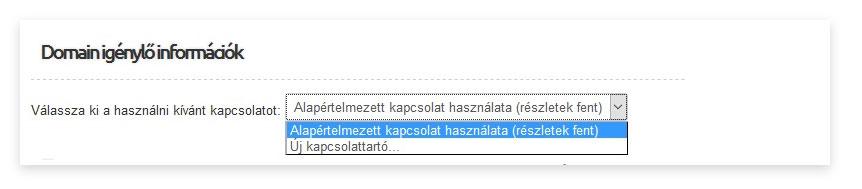 regisztrálja az opciókat)