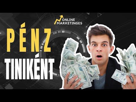 pénzt keresni egy robot)