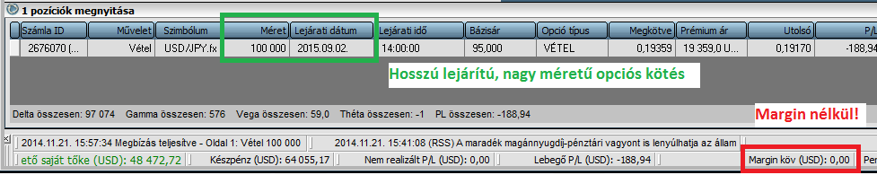 Erste Befektetési Zrt. - Deviza Opciók