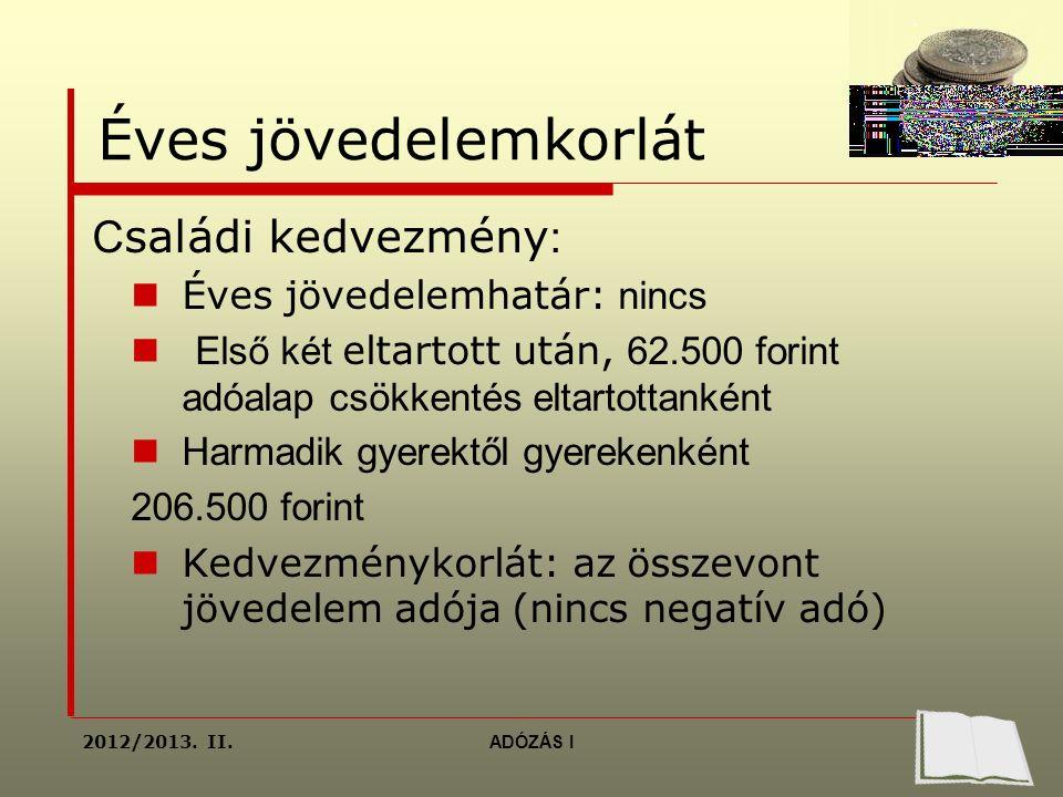 a kiegészítő jövedelem típusai)