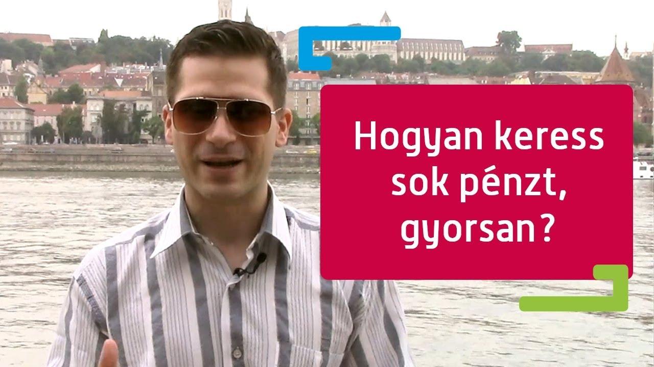 okosan pénzt keresni)