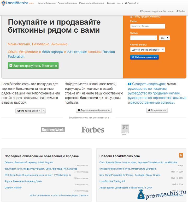 localbitcoins hasonló oldalak