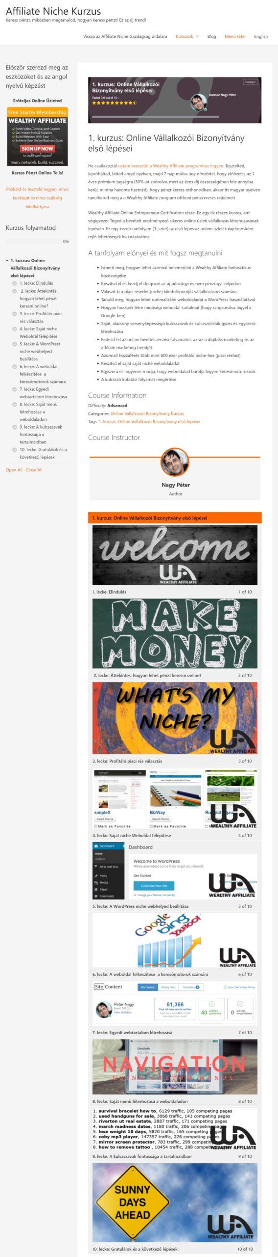 hogyan lehet egy weboldalon pénzt keresni