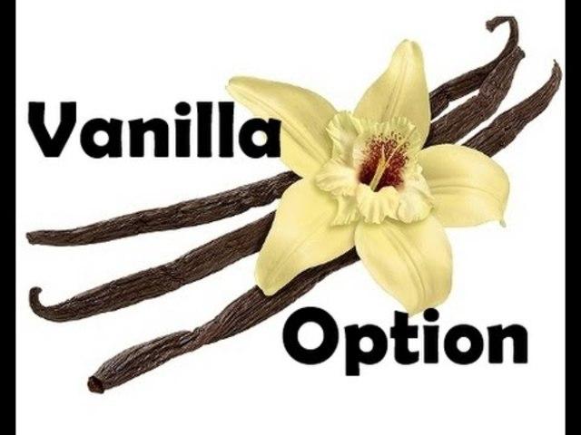 vanília opciók bemutató