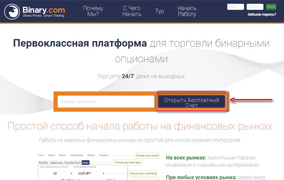 demo számla regisztráció bináris opciók nélkül)