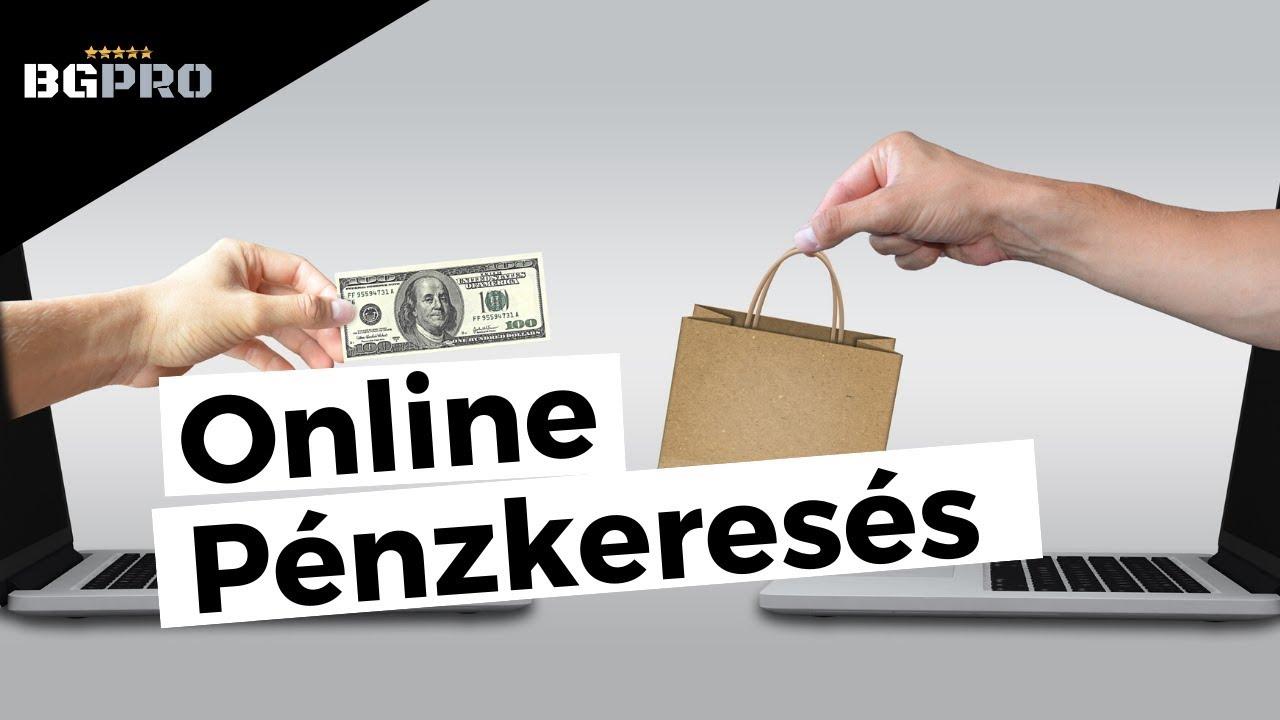 az internetes pénzkeresés népszerű módjai