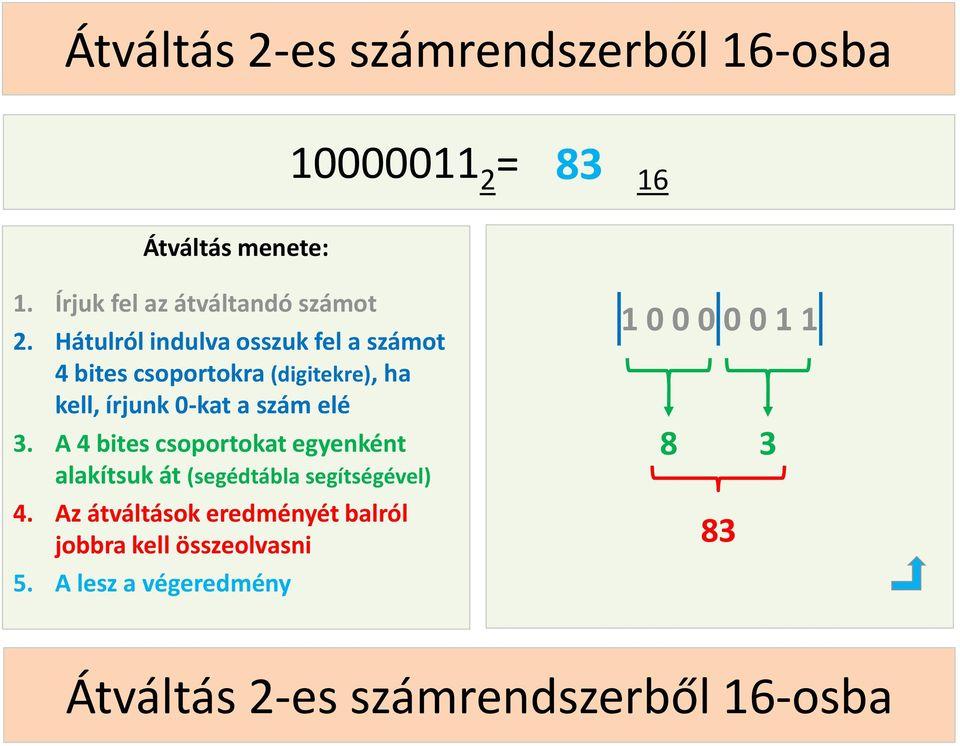 bináris hibák 5s