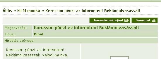 d internetes pénzt keresni)