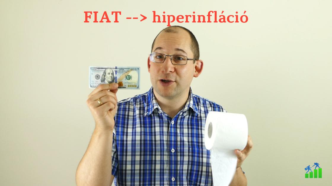 A FIAT pénz bukása, hiperinflációs példák