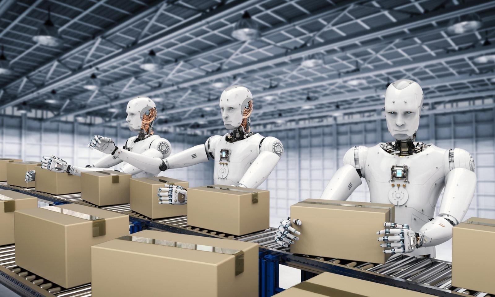 Robot a raktárban: változóban a logisztika