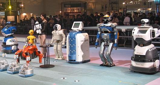 Robotgyártó cég. Ipari robotok