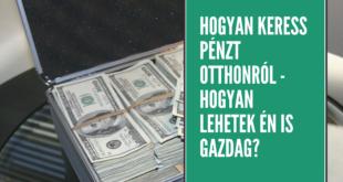 ne csinálj semmit és keress pénzt)