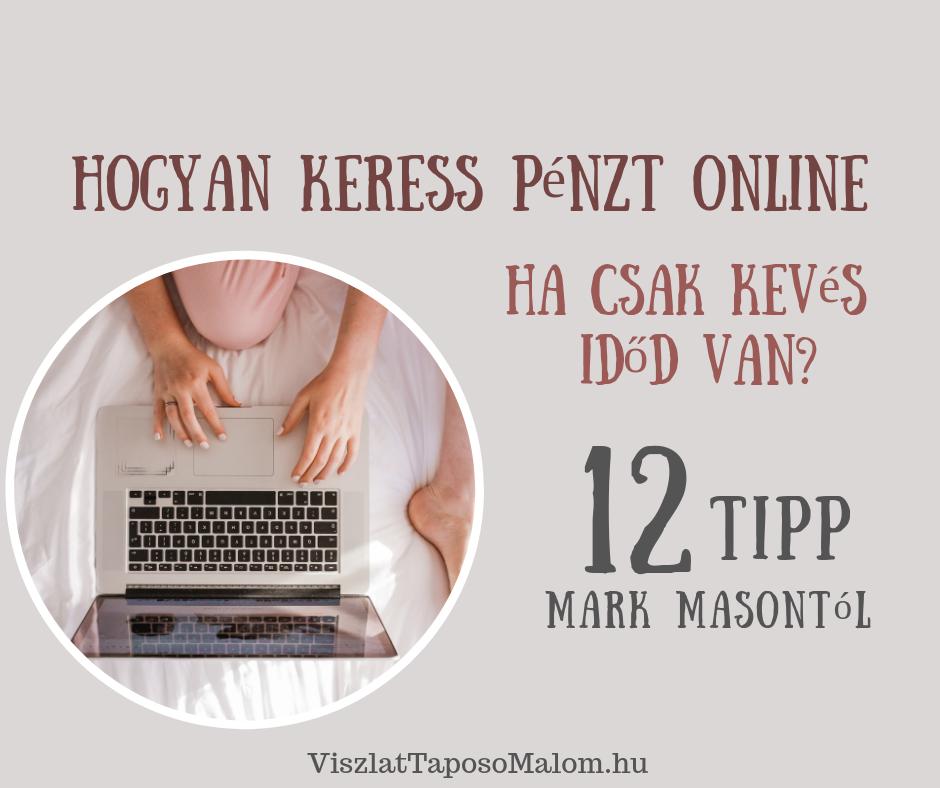 online pénzkeresési tippek