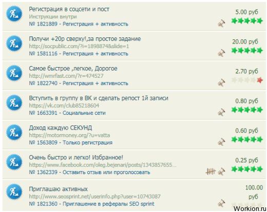 valós kereset az interneten naponta)