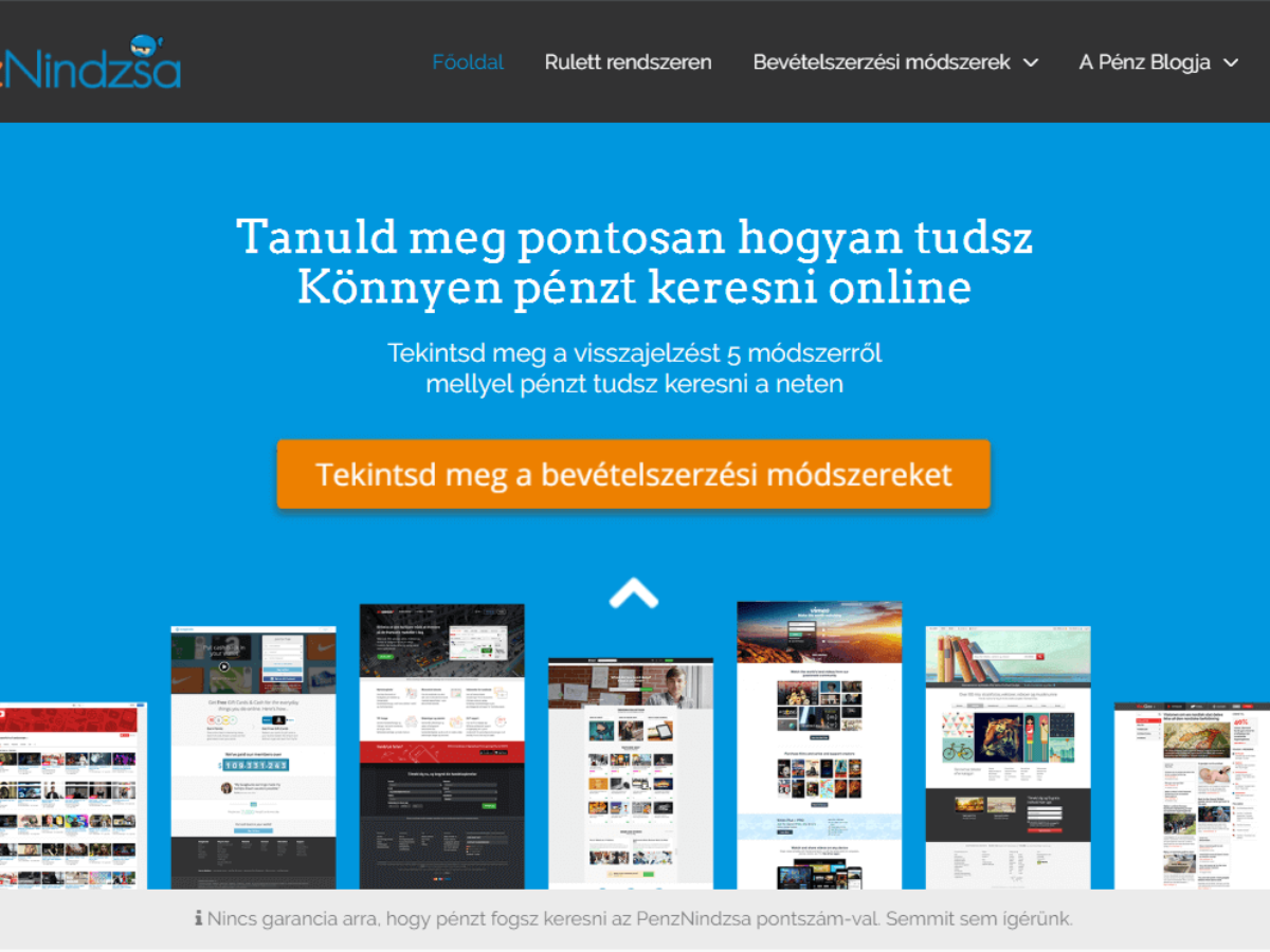 pénzt keresni online leírások)