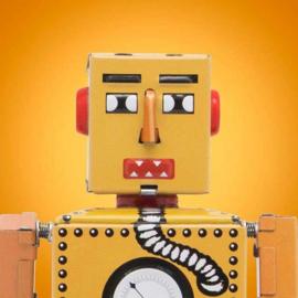 robot robot üveggel)