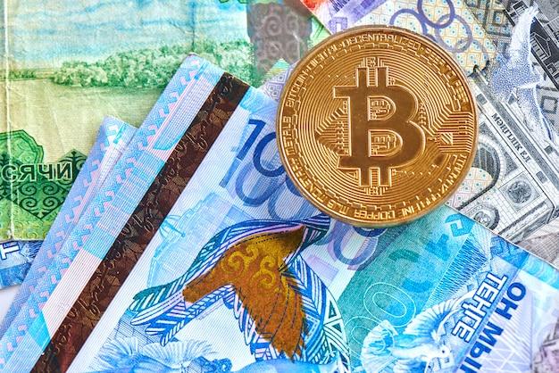 bitcoin a tenge)