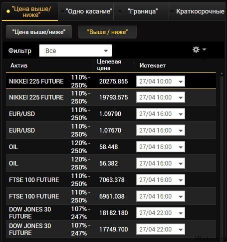 bináris opció a millió kártya bitcoin