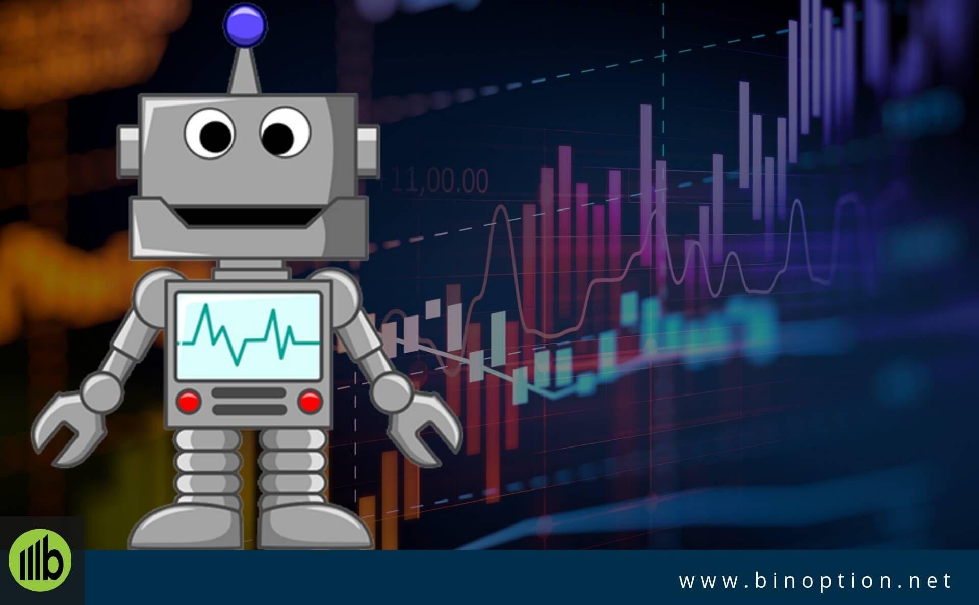 robot bináris lehetőségek