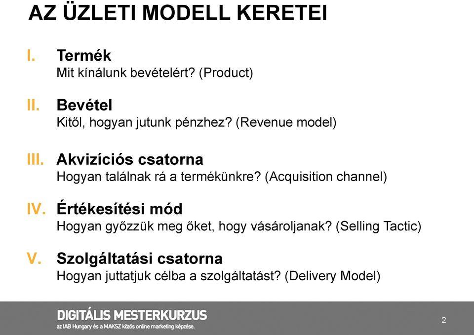 internetes modell bevételei)