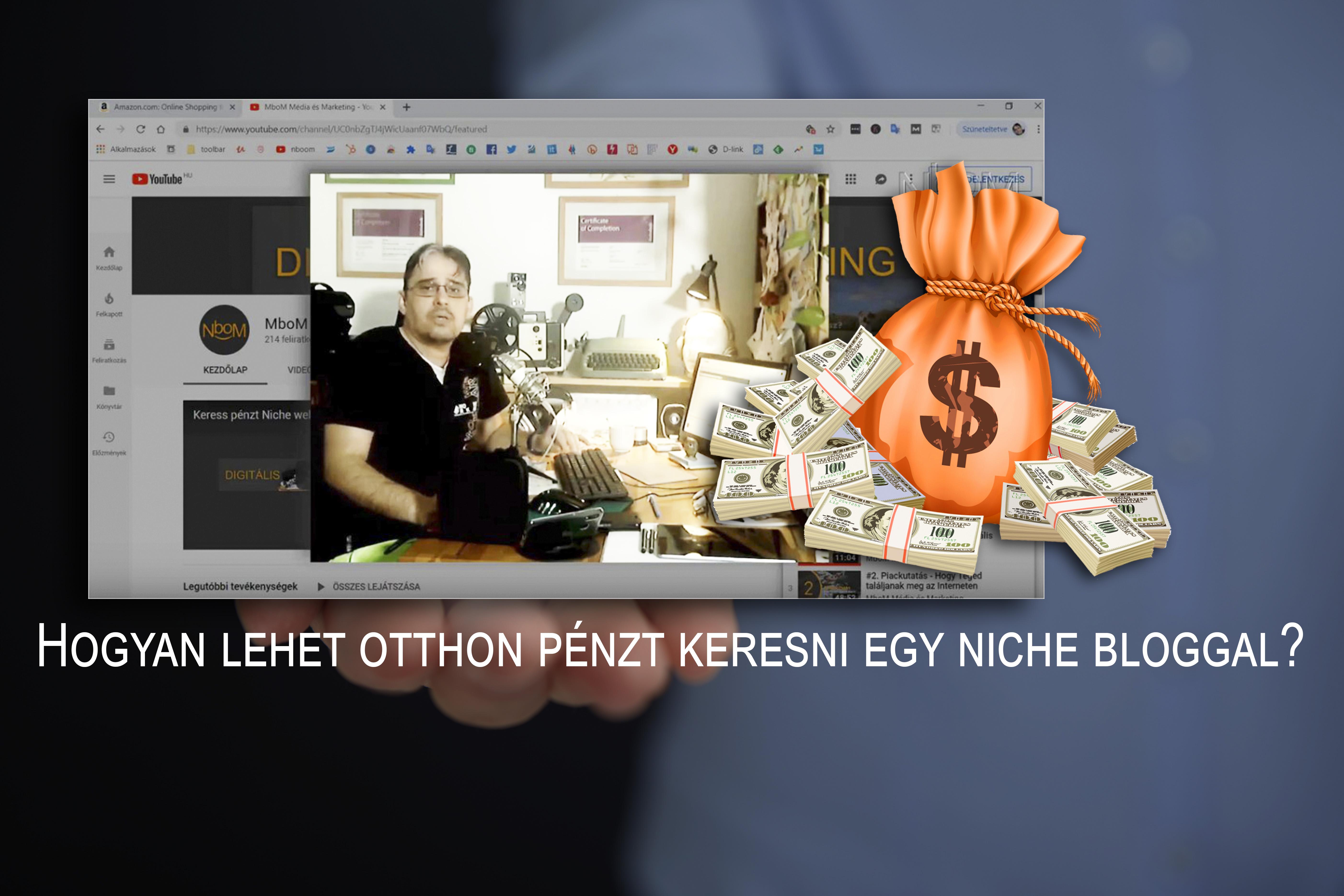 Valódi pénzkereset egy internetes oldalon
