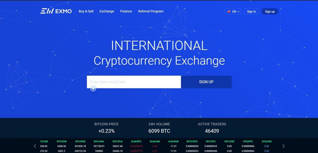 Exchange EXMO: áttekintés és vélemények designaward.hu