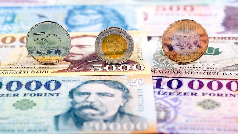 USDHUF kereskedés ben és a dollár forint árfolyam alakulása