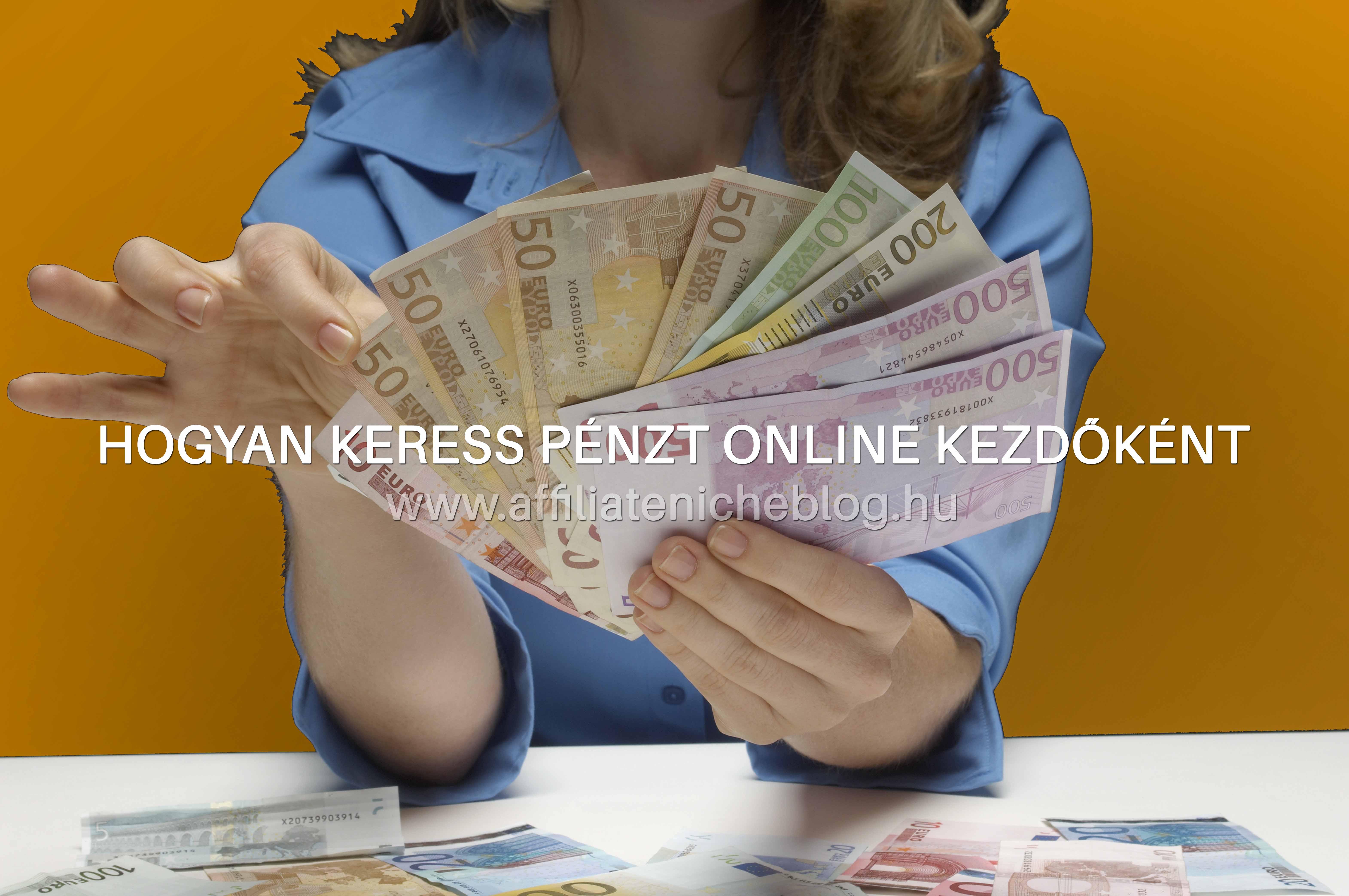 jó pénzt keresni online