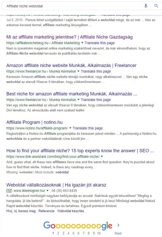 linkek és webhelyek, hogyan lehet pénzt keresni