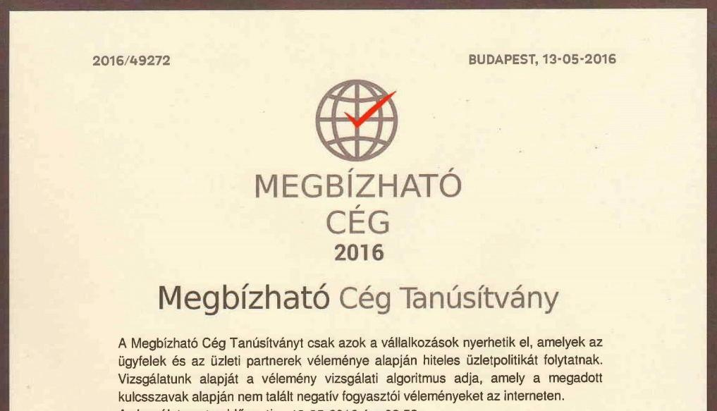 minősítés legjobb üzlet)