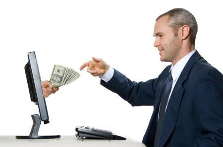pénzt keresni az idegenektől)