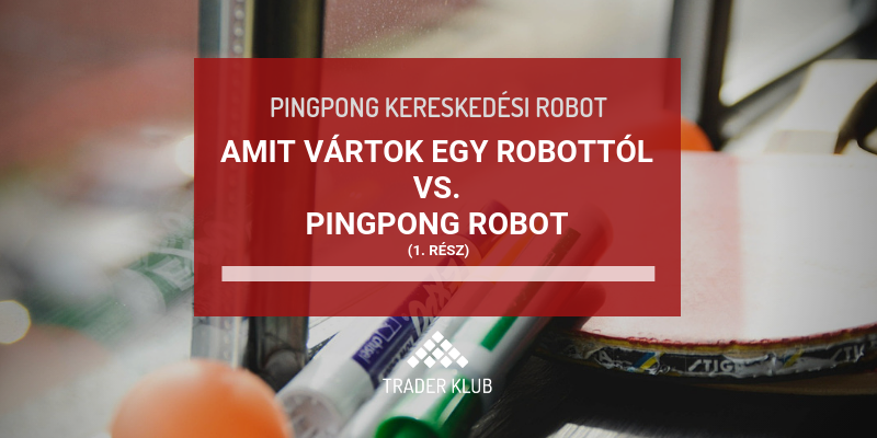 írjon kereskedési robotot